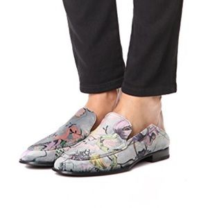 Rag & Bone Alix Convertible Loafers Floral Mules